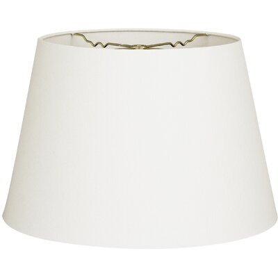 Timeless Tapered 20 Linen Empire Lamp Shade Color: Linen White