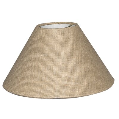 Timeless Coolie 16 Burlap Empire Lamp Shade
