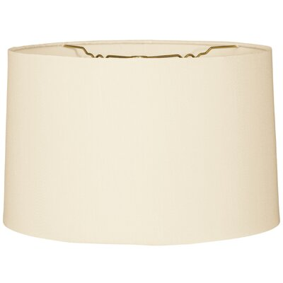 Timeless 16 Burlap Drum Lamp Shade
