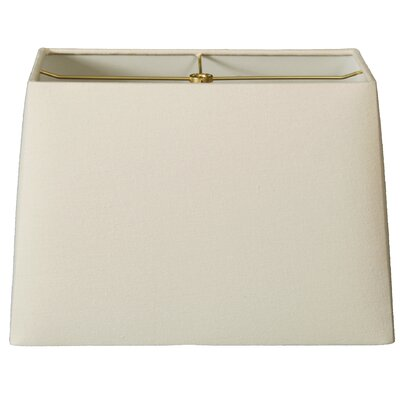 Timeless 8 Linen Rectangular Lamp Shade Color: Linen Eggshell