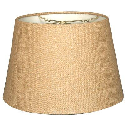 Timeless Tapered 20 Shantung Empire Lamp Shade Color: Burlap