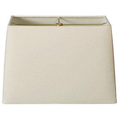 Timeless 10 Linen Rectangular Lamp Shade Color: Linen Eggshell