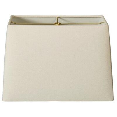 Timeless 10 Linen Rectangular Lamp Shade Color: Linen Eggshell