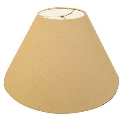 Timeless Coolie 12 Linen Empire Lamp Shade Color: Antique Gold