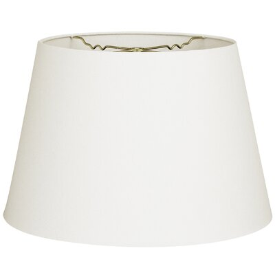 Timeless Tapered 14 Linen Empire Lamp Shade Color: Linen White