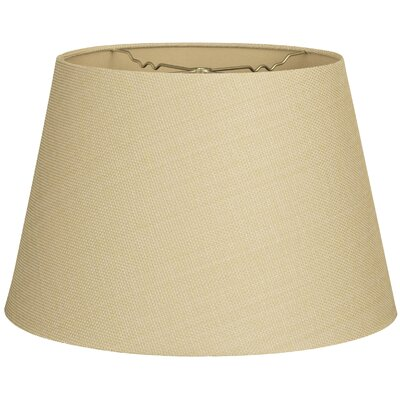 Timeless Tapered 20 Linen Empire Lamp Shade Color: Linen French