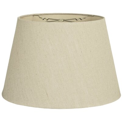 Timeless Tapered 16 Linen Empire Lamp Shade Color: Linen Beige