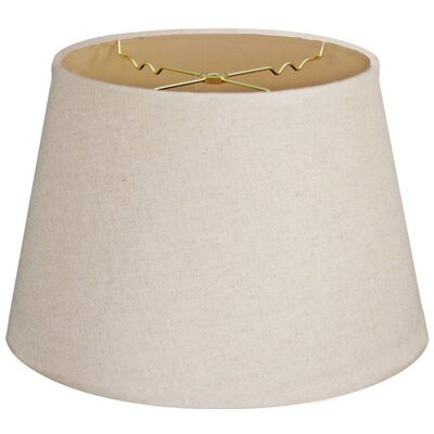 Timeless Tapered 16 Linen Empire Lamp Shade Color: Linen Cream