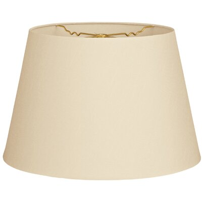 Timeless Tapered 20 Shantung Empire Lamp Shade Color: Beige
