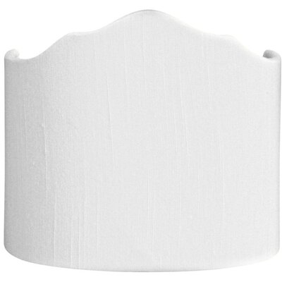 Timeless 10 Shantung Novelty Lamp Shade Color: White