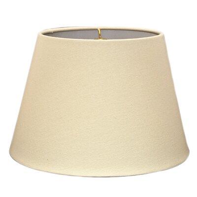 Timeless Tapered 14 Linen Empire Lamp Shade Color: Linen Eggshell