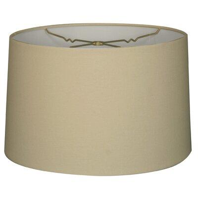 Timeless 10 Linen Drum Lamp Shade Color: Linen Eggshell