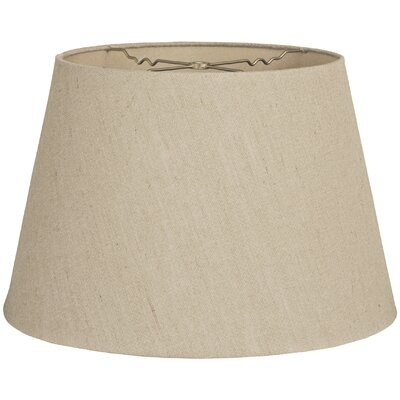 Timeless Tapered 14 Linen Empire Lamp Shade Color: Linen Belgium