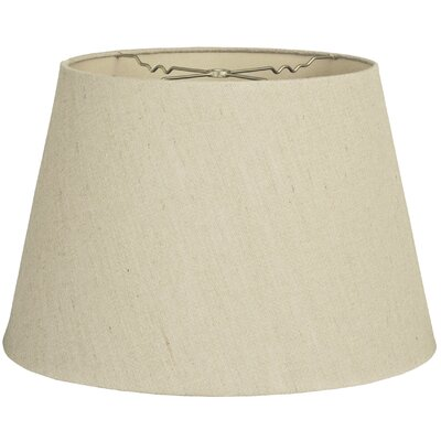 Timeless Tapered 14 Linen Empire Lamp Shade Color: Linen Beige