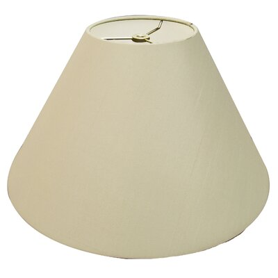 Timeless Coolie 12 Linen Empire Lamp Shade Color: Beige