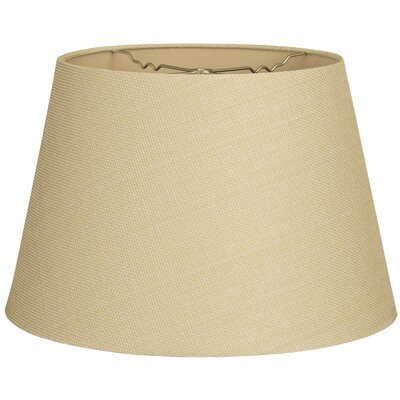 Timeless Tapered 16 Linen Empire Lamp Shade Color: Linen French