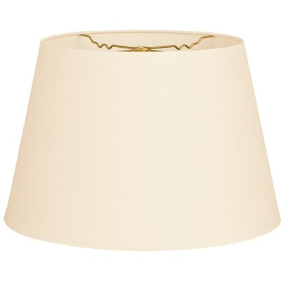 Timeless Tapered 12 Shantung Empire Lamp Shade Color: Eggshell