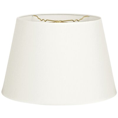 Timeless Tapered 12 Shantung Empire Lamp Shade Color: White