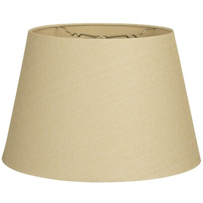 Timeless Tapered 14 Linen Empire Lamp Shade Color: Linen French