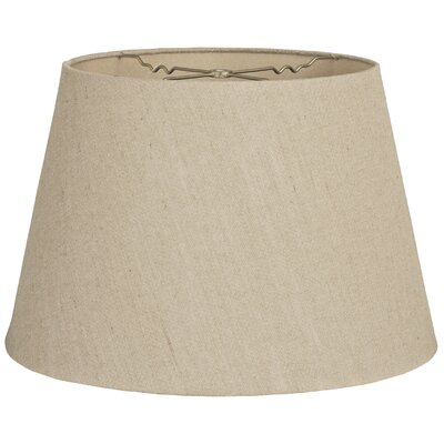 Timeless Tapered 16 Linen Empire Lamp Shade Color: White