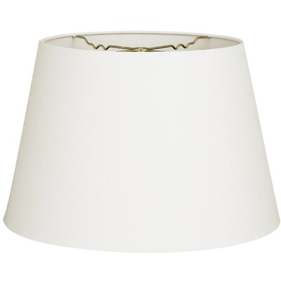 Timeless Tapered 16 Linen Empire Lamp Shade Color: Linen White