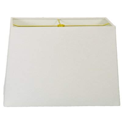 Timeless 10 Linen Rectangular Lamp Shade Color: Linen White