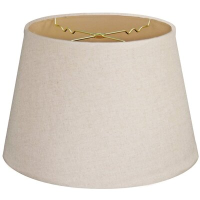 Timeless Tapered 14 Linen Empire Lamp Shade Color: Linen Cream