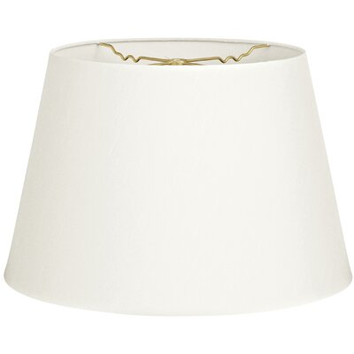 Timeless Tapered 20 Shantung Empire Lamp Shade Color: White