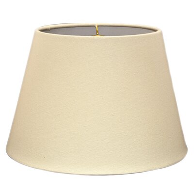 Timeless Tapered 16 Linen Empire Lamp Shade Color: Linen Eggshell