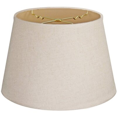 Timeless Tapered 20 Linen Empire Lamp Shade Color: Linen Cream