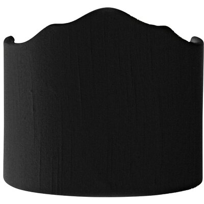 Timeless 10 Shantung Novelty Lamp Shade Color: Black