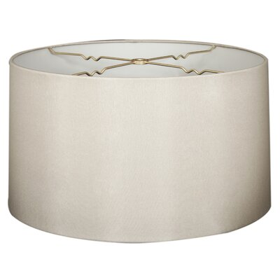 Timeless 10 Shantung Drum Lamp Shade Color: Gray