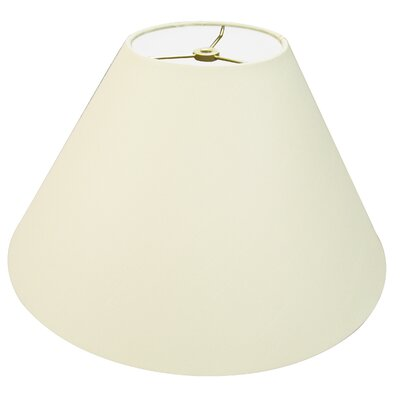 Timeless Coolie 12 Linen Empire Lamp Shade Color: Eggshell