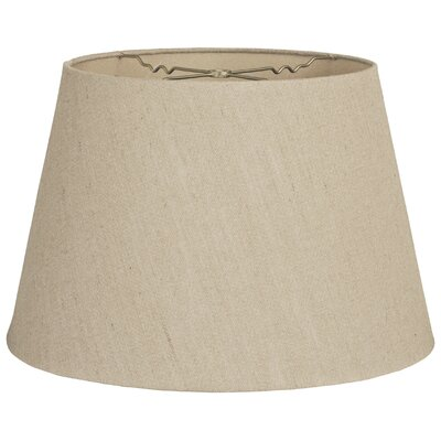 Timeless Tapered 13 Linen Empire Lamp Shade Color: Linen Belgium