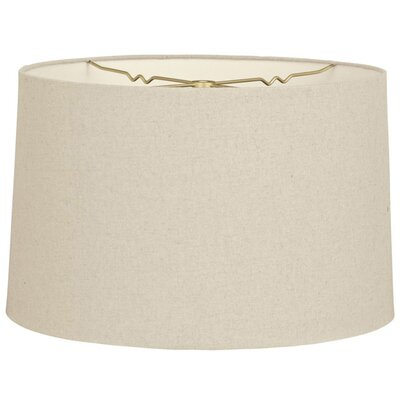 Timeless 12 Shantung Drum Lamp Shade Color: Linen Beige