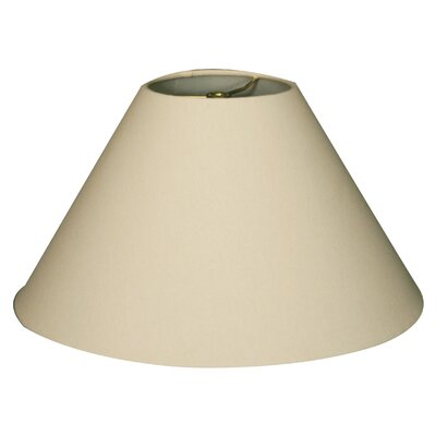 Timeless Coolie 14 Linen Empire Lamp Shade Color: Linen Eggshell