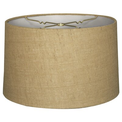 Timeless 12 Shantung Drum Lamp Shade Color: Burlap