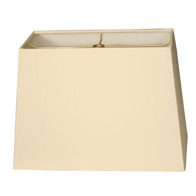 Timeless 8 Shantung Rectangular Lamp Shade Color: Eggshell