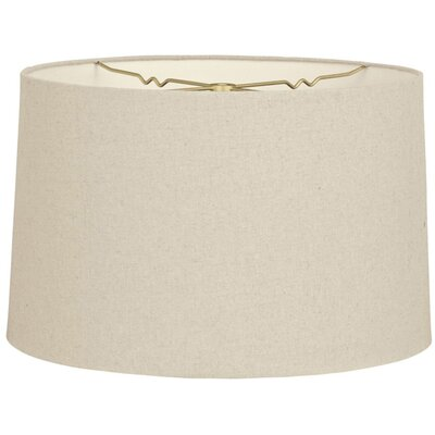 Timeless 10 Shantung Drum Lamp Shade Color: Linen Beige