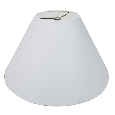 Timeless Coolie 12 Linen Empire Lamp Shade Color: White