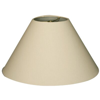 Timeless Coolie 18 Linen Empire Lamp Shade Color: Linen Eggshell