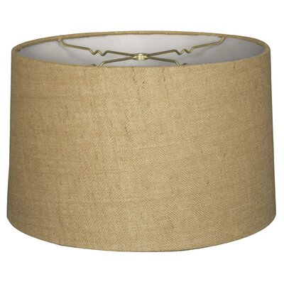 Timeless 16 Shantung Drum Lamp Shade Color: Burlap