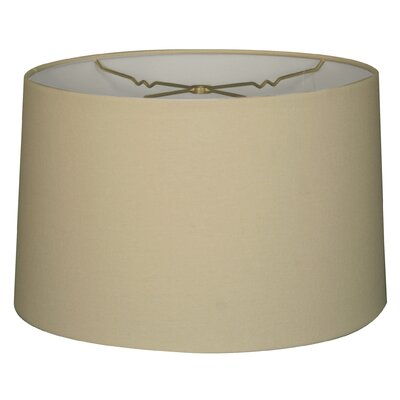 Timeless 16 Linen Drum Lamp Shade Color: Linen Eggshell