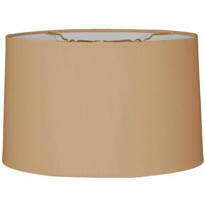 Timeless 12 Linen Drum Lamp Shade Color: Antique Gold