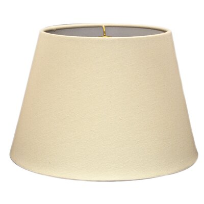 Timeless Tapered 12 Linen Empire Lamp Shade Color: Linen Eggshell