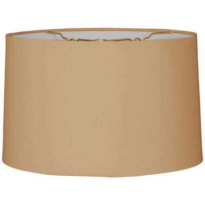 Timeless 16 Linen Drum Lamp Shade Color: Antique Gold