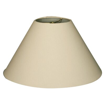 Timeless Coolie 12 Linen Empire Lamp Shade Color: Linen Eggshell