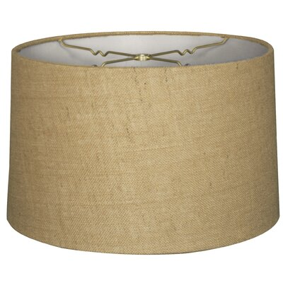 Timeless 14 Shantung Drum Lamp Shade Color: Burlap