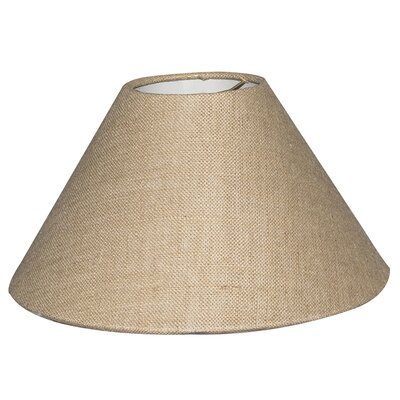 Timeless Coolie 12 Linen Empire Lamp Shade Color: Burlap