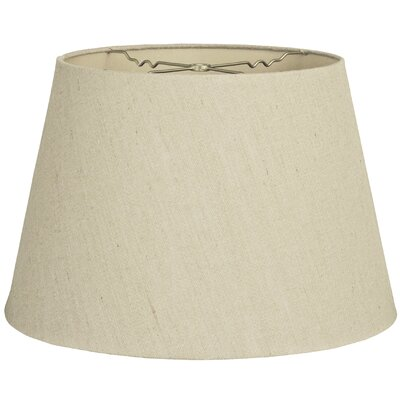 Timeless Tapered 13 Linen Empire Lamp Shade Color: Linen Beige